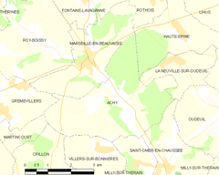 Map commune FR insee code 60004.png