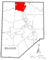 Map of Big Beaver, Beaver County, Pennsylvania Highlighted.png