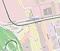Map of Edinburgh Park mainline station and tram stop (OSM standard, zoom 16).jpg