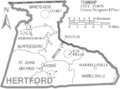 Map of Hertford County North Carolina With Municipal and Township Labels.PNG