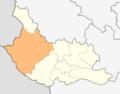 Map of Kyustendil municipality (Kyustendil Province).png
