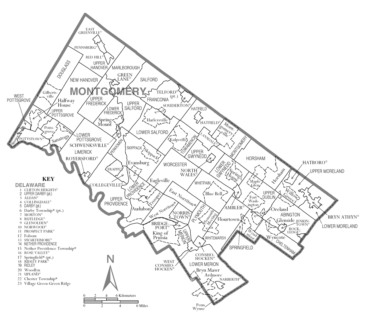 file map of montgomery county  pennsylvania png