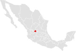 Situs Aquarum Caldarum in Mexico