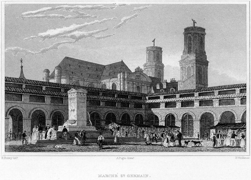 Fichier:Marché de St. Germain, 1831.jpg