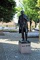 Maribo, the memorial to Kaj Munk.JPG