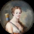 Marie-Antoinette en Diane chasseresse, miniature.png