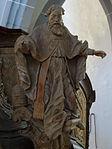 Marienstiftskirche Lich Kanzel Bernhard von Clairvaux 04.JPG