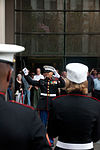 Marine band plays in New York rain DVIDS452645.jpg