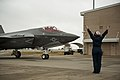 Marines receive first F-35C Lightning II carrier variant 150113-F-SI788-031.jpg