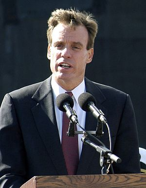 United States Senate election in Virginia, 1996 - Image: Mark Warner during the Commissioning Ceremony for the VIRGINIA (SSN 774)