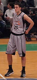 Croatian-Swedish basketball player