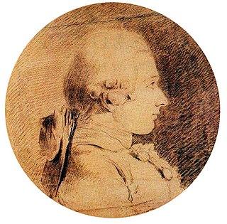 Det enda kända porträttet av Donatien Alphonse François de Sade,en teckning av Charles-Amédée-Philippe van Loo gjord runt 1761.