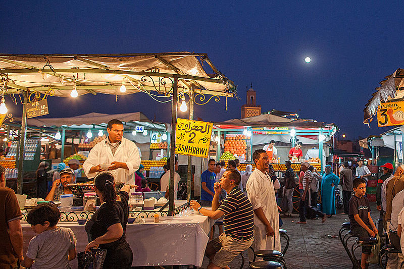 File:Marrakech - Place Jemaa el-Fna - Maroc Morocco - Photo Image Photography (9125451029).jpg