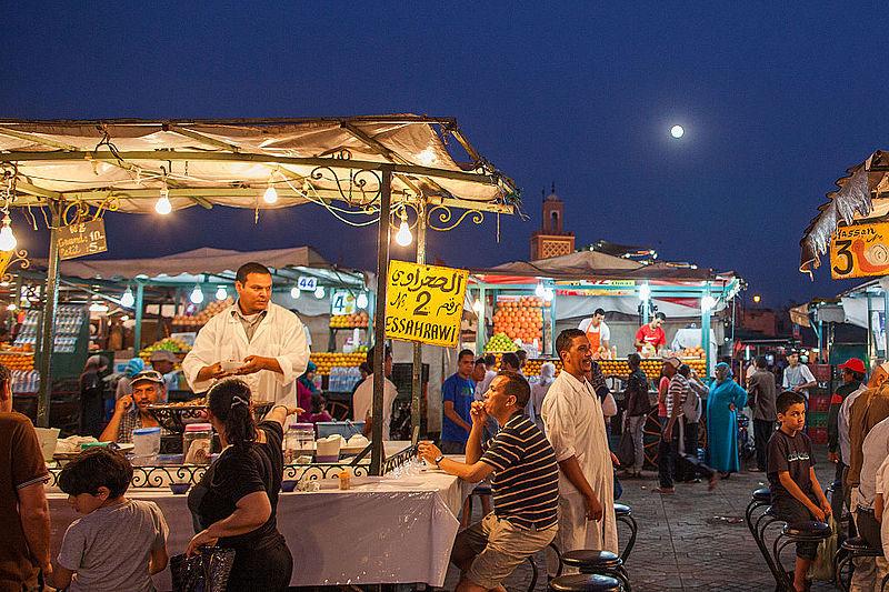 File:Marrakech - Place Jemaa el-Fna - Maroc Morocco - Photo Image Photography (9125451029).jpg