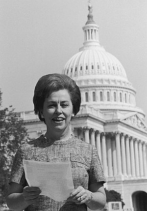 Representative Martha Griffiths (D-Mich.), Was...