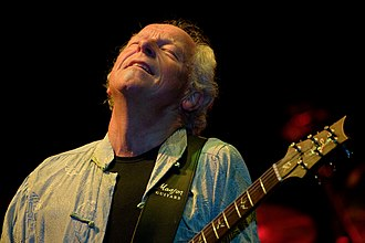 Martin Barre - Barre performing with Jethro Tull in Genoa,  14 February 2010 Photo: Pino D'Amico