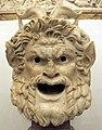 Maschera di satiro, II sec dc.JPG