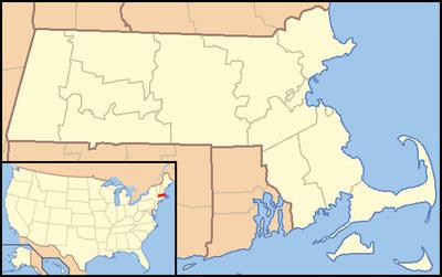 Usa Map Of Massachusetts