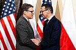 Mateusz Morawiecki i Rick Perry.jpg