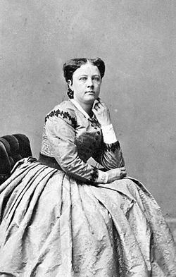 Mathilda Thorell, 1862