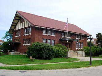 Princeton, Illinois - Matson Library