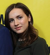 Maude Apatow at SXSW Red Carpet premiere of BLOCKERS (39852920695) (cropped).jpg