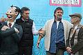 Mauricio Macri presentó la estatua de Isidoro Cañones en el nuevo Paseo de la Historieta (7637607962).jpg