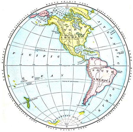 Awesome Maury Geography 028A Western Hemisphere