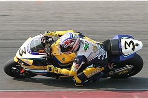 Max Biaggi - Image: Max biaggi wk sbk assen 2007