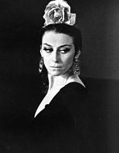 Maïa Plissetskaïa dans Carmen suites