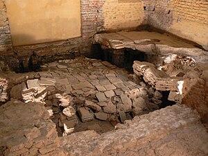 Roman-Gaul Baths of Entrammes - The caldarium