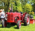 McCormick International B-250 tractor at Catton Hall.jpg