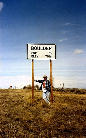 Image illustrative de l'article Boulder (Wyoming)