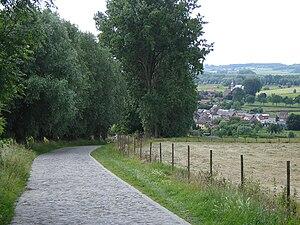 Flemish Ardennes - Image: Melden Koppenberg View
