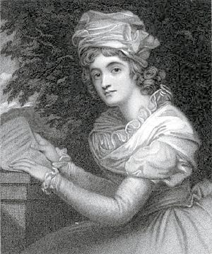 Melesina Trench - Engraving by William Holl the Younger after a painting by George Romney