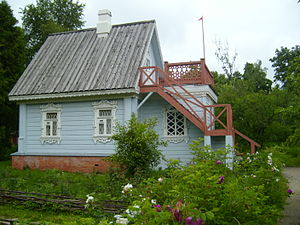 The Seagull - Guest cottage at Melikhovo where Chekhov wrote The Seagull