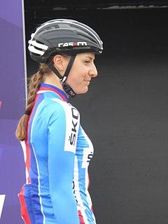 Melissa van Neck Czech cyclist