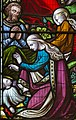 Melton Mowbray, St Mary's church, window detail (43812532350).jpg