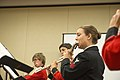 Members of the United States Navy Band perform at National Flute Convention (20630110221).jpg