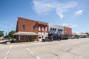 Mentone, Indiana - Image: Mentone, Indiana
