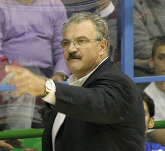 Romeo Sacchetti - Sacchetti, as head coach of Dinamo Sassari.