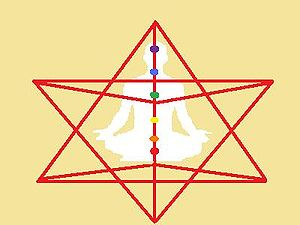 English: Merkaba Meditation (Stella octangula ...