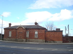 Merrion Gates - The old Train Station building