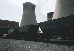 Merry-go-round train - Merry Go Round at Cottam Power Station, 1970-1995.