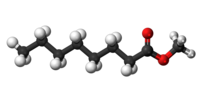 Methyl octanoate3D.png