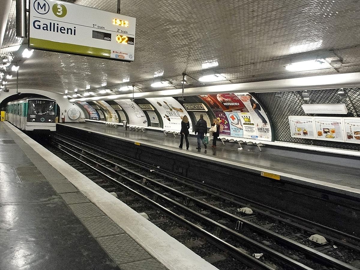 Ligne 3 du métro de Paris — Wikipédia