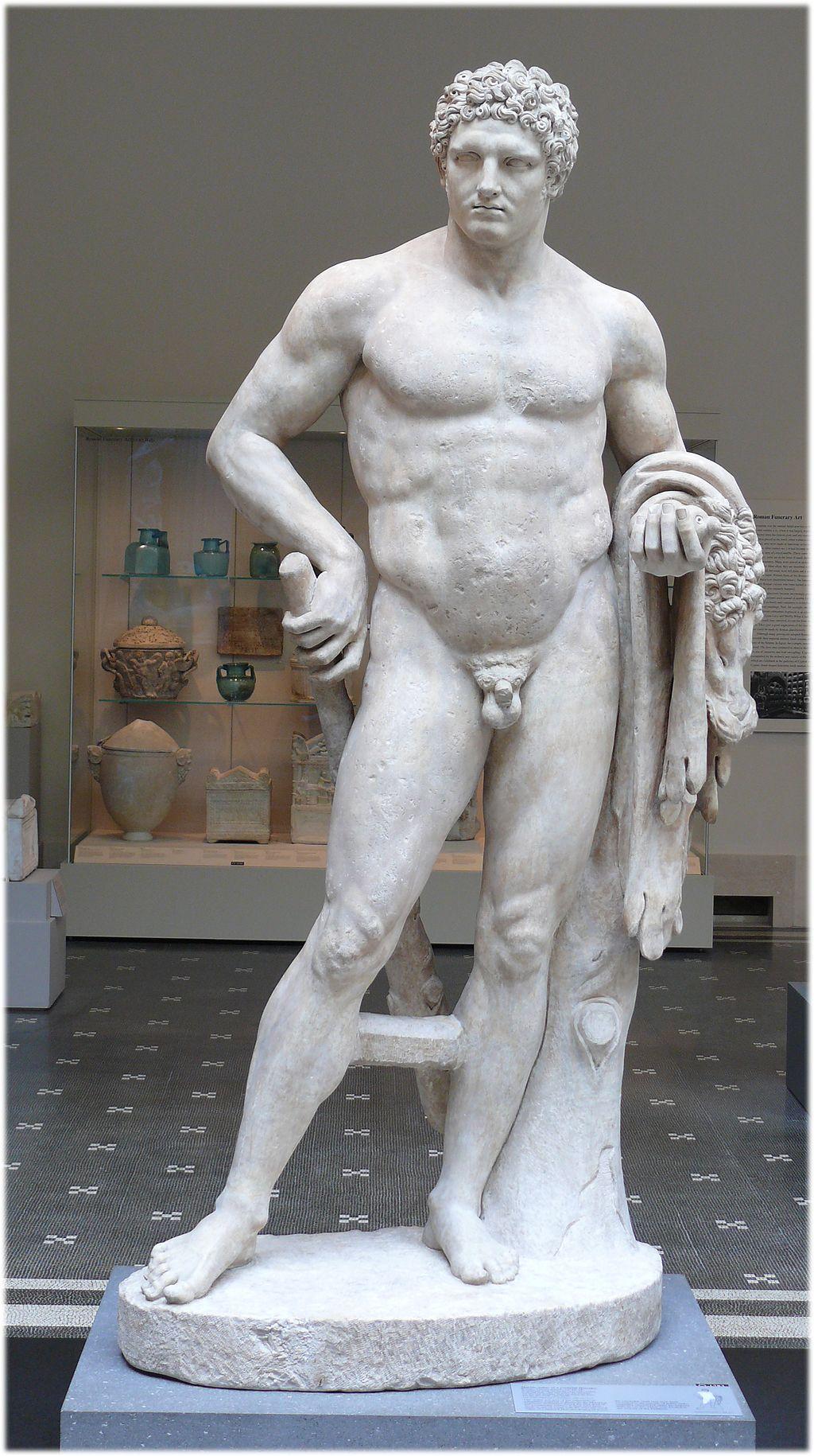 Metropolitan youthful Hercules Roman 1C AD