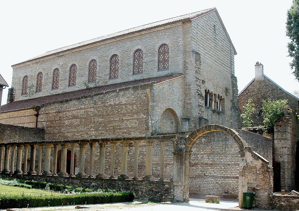 Saint-Pierre-aux-Nonnains Basilica, France