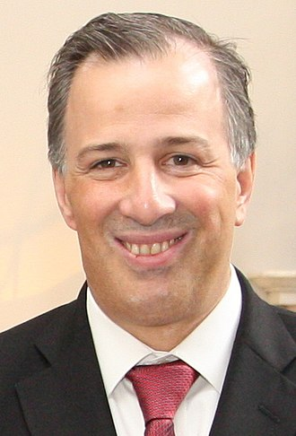 2018 Mexican general election - Image: Mexican Foreign Minister José Antonio Meade (16295258100) (cropped)