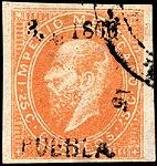 Mexico 1866 25c Sc29 Puebla.jpg